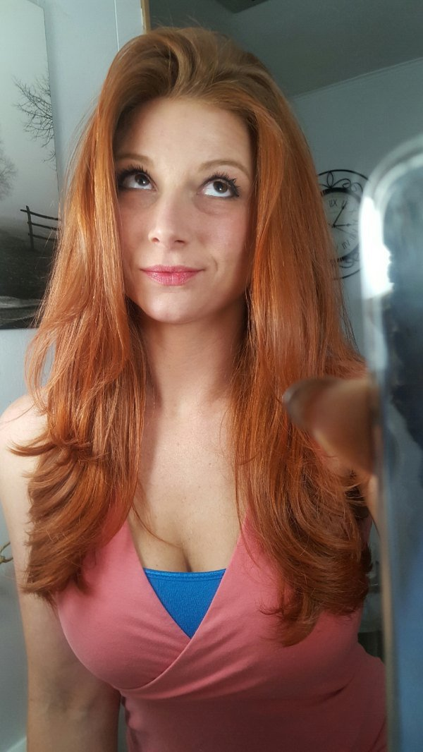 Busty redhead pictures