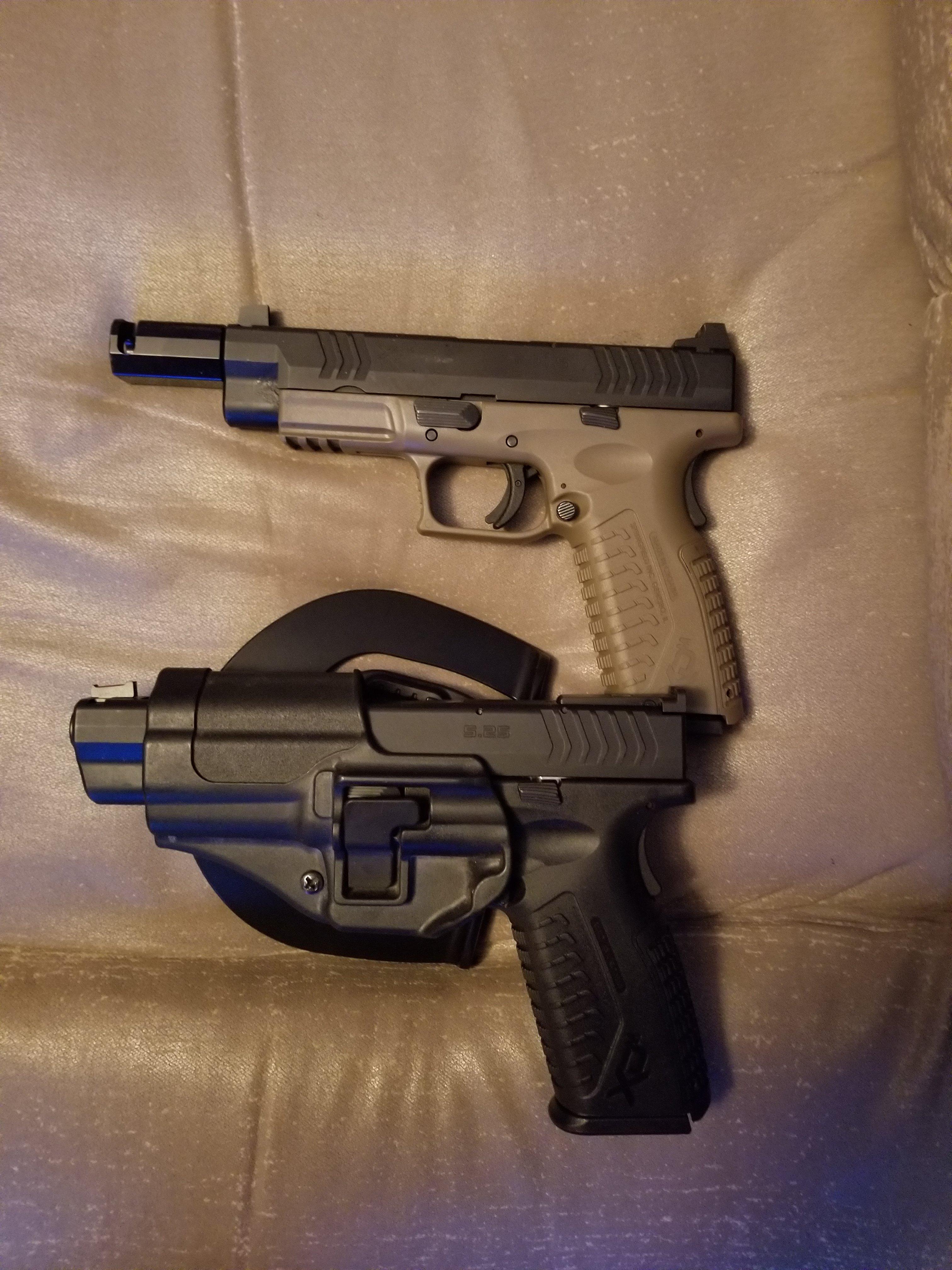 XDM 5 25 holster! | Springfield XD Forum