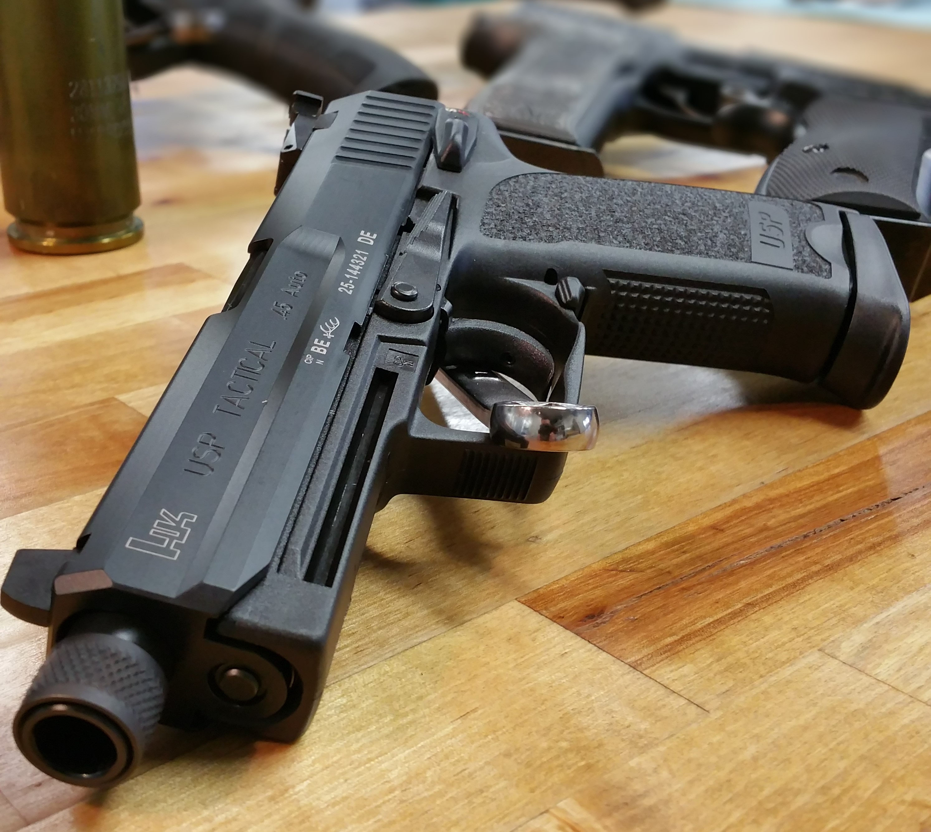 Ah, the USP Tactical  45, at last it is mine    Springfield