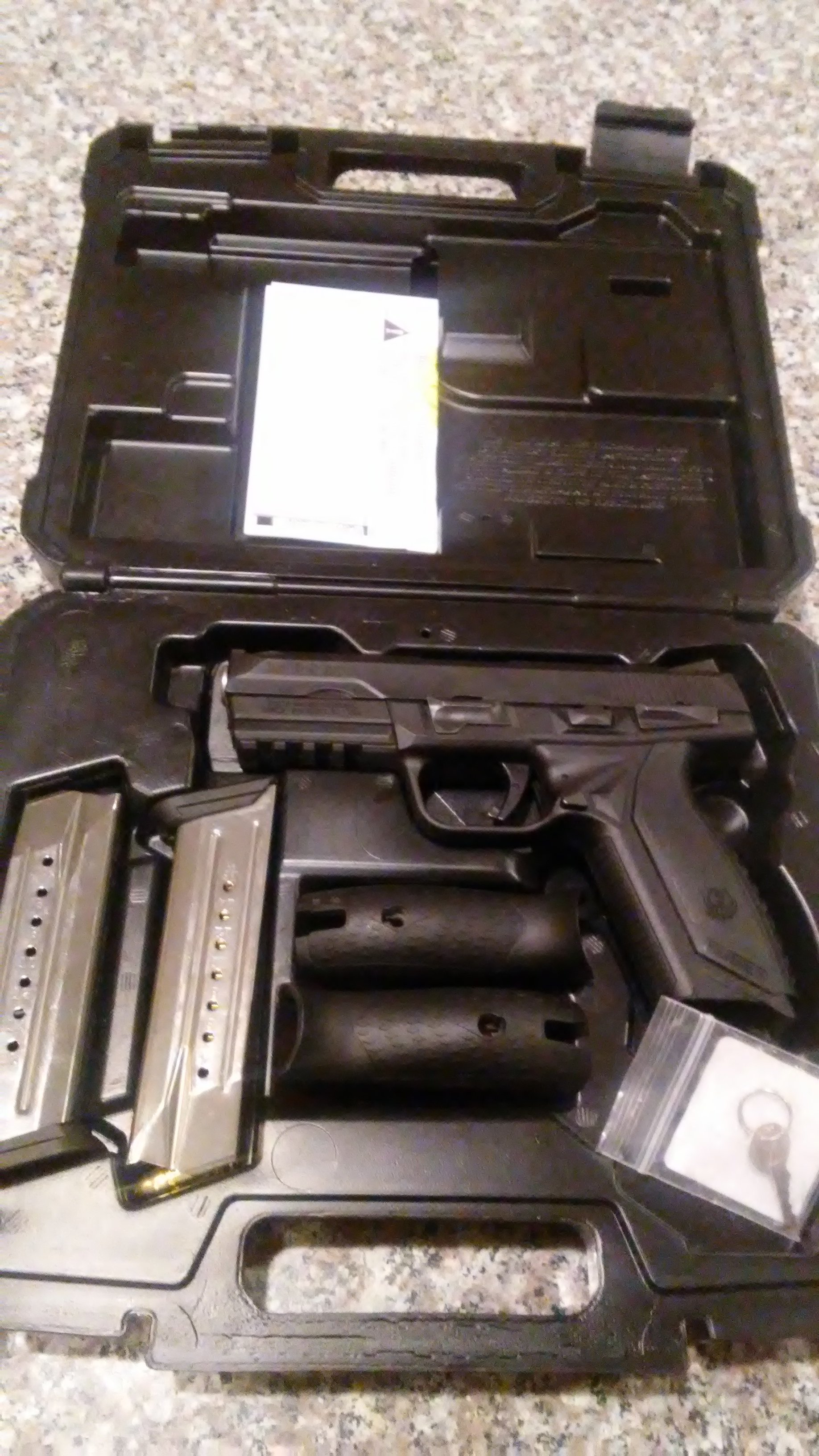 Ruger American 9mm  4 17 rnd mags and holster | Springfield XD Forum