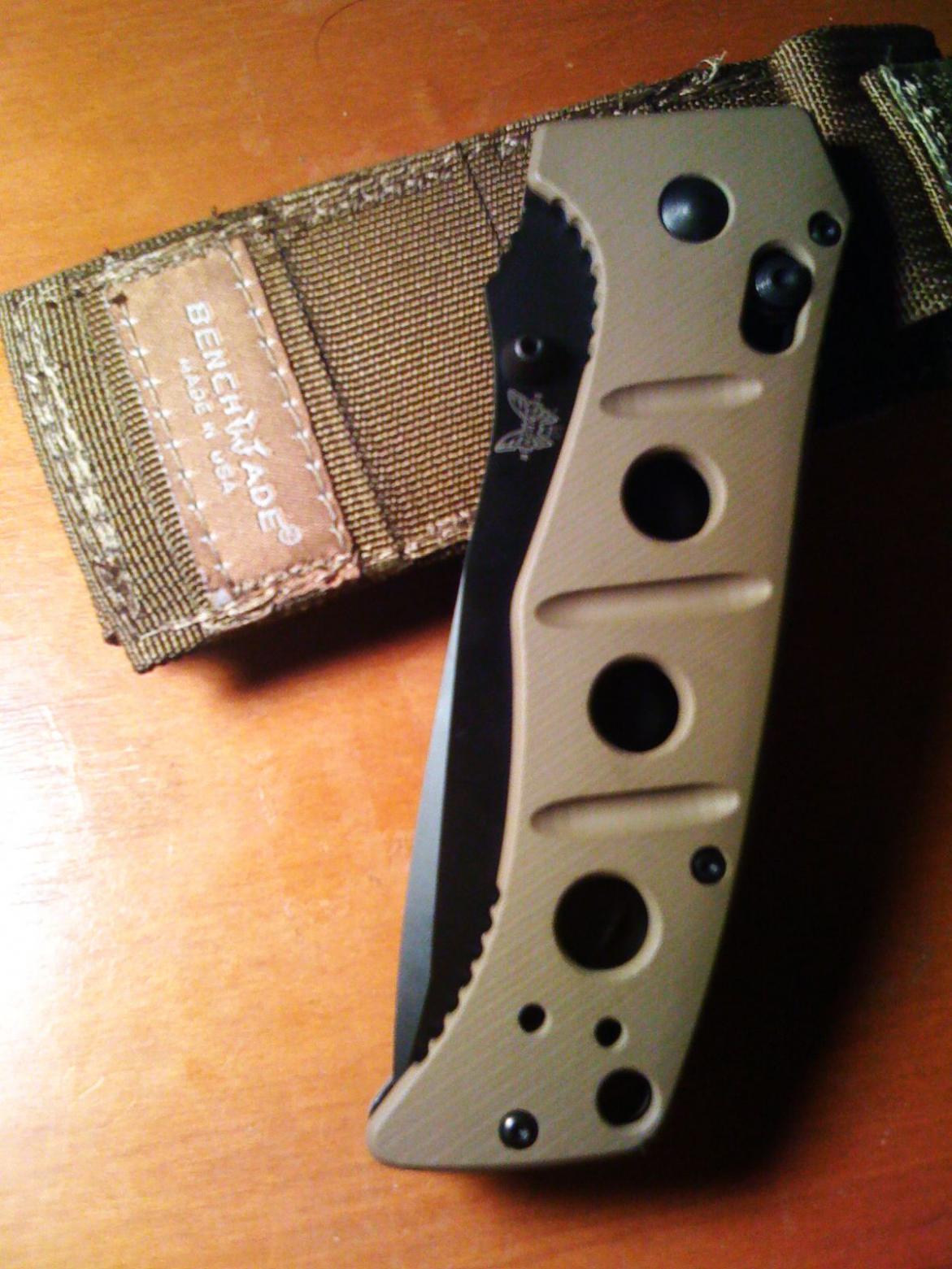 Benchmade Adamas 275 First Impressions | Springfield XD Forum