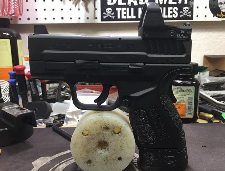 XD Mod2 Sub-Compact milled for Leupold Delta Point Pro