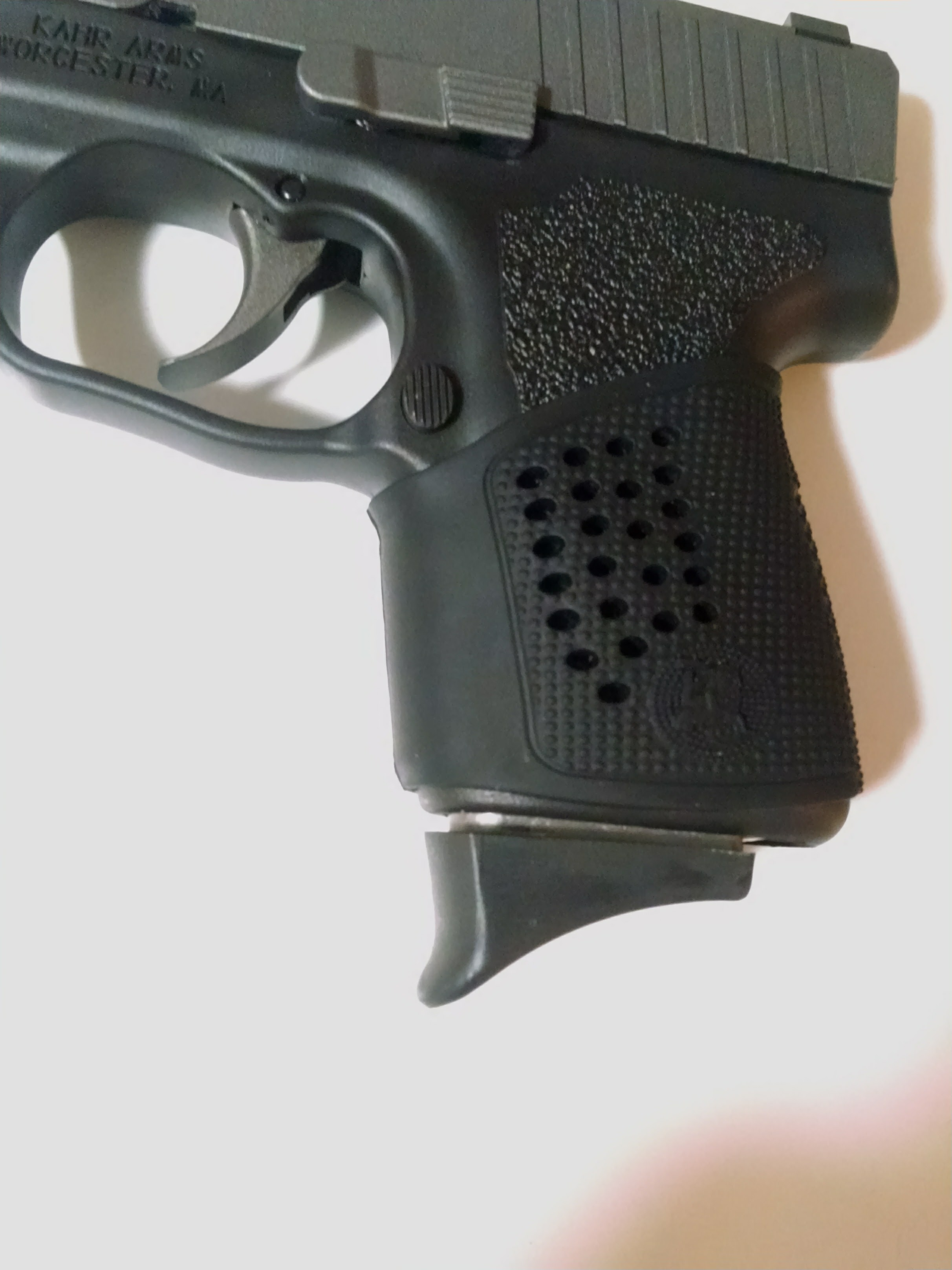 Kahr CM9 with pinky extension mag | Springfield XD Forum