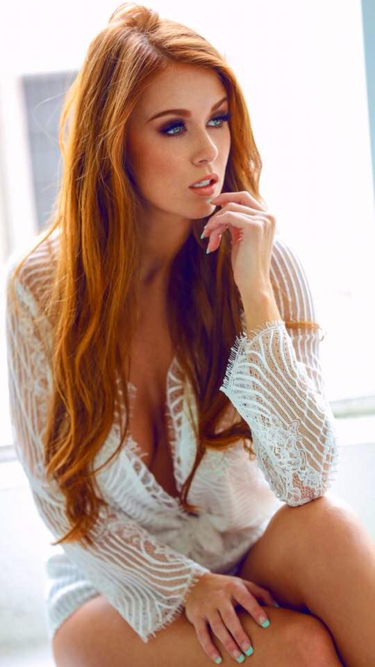 Sexy redhead models