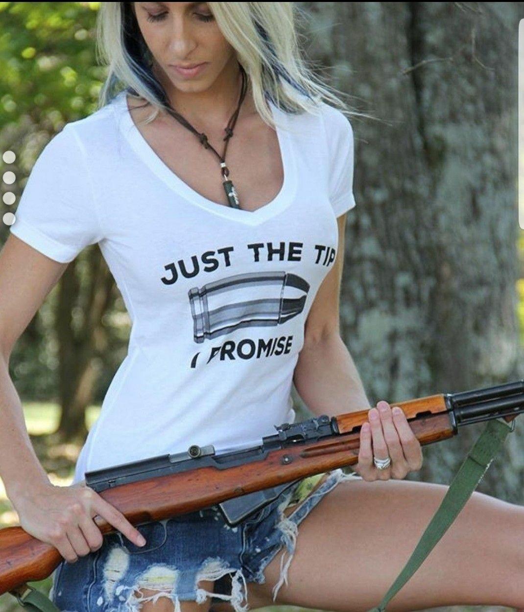 Bikini and guns pussy