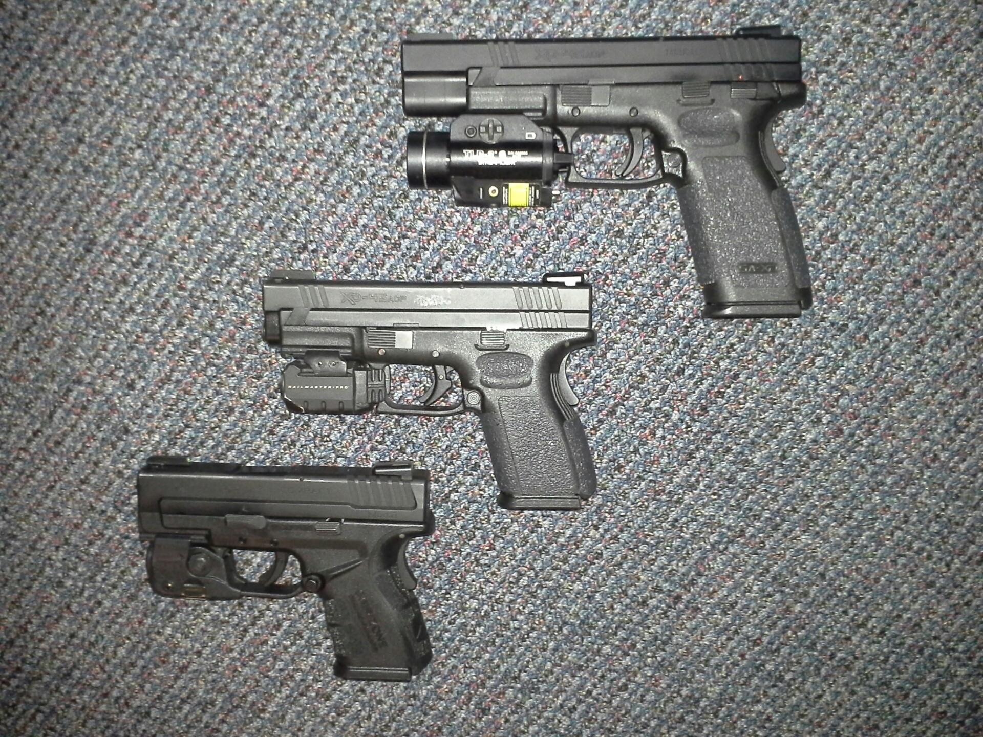Mod 2 45 sub compact laser choice?   Springfield XD Forum